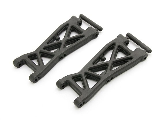 Front Lower A-Arm (L & R) - BSR Racing BZ-444 1/10 4WD Racing Buggy