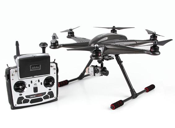 Walkera TALI H500 FPV Hexacopter mit F12E, Bluetooth Datenverbindung, G-3D, iLookplus (Ready To Fly)