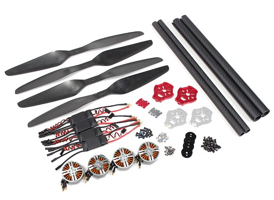 DYS D-800 X4 Professionelle Acromodelle X8 Upgrade Kit