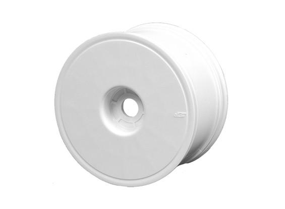 """JConcepts Mono-3.7 """"1/8 Truck Wheel - Weiß"""