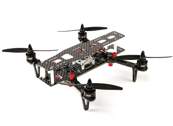 DYS 250 Full Carbon Fiber Folding Quadcopter mit Speicher-Fall (PNF)