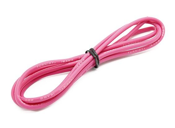 Turnigy Qualitäts-16AWG Silikonkabel 1m (Pink)