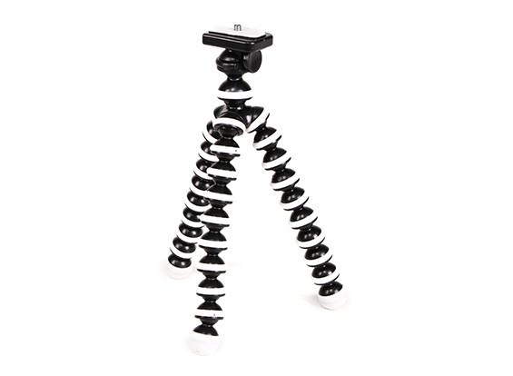 """Flexible Mini Bubble-Stativ für Action-Cams mit 1/4 """"-20 Gewinde und Quick-Release Berg"""