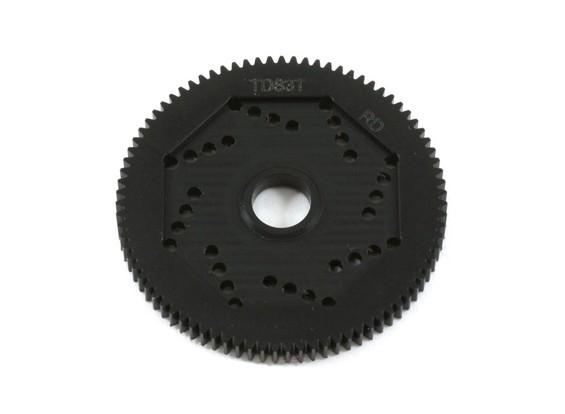 Revolutions-Entwurf 48DPX 83T R2 Präzisions-Stirnradgetriebe für Hex Typ Slipper Pad