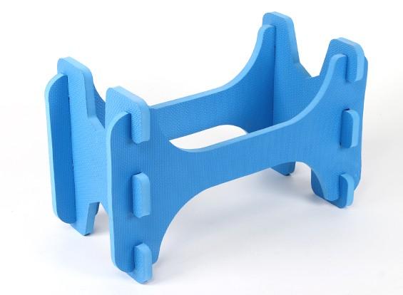 Hobbyking ™ Leichtschaum Flugmodelle Stand (blau)