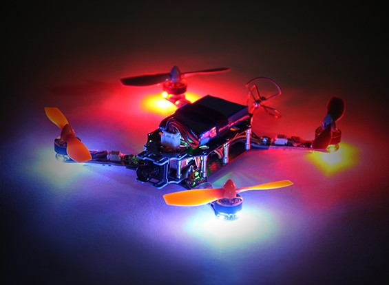 Hermit 145 FPV Quadcopter w / Motoren / ESC / Flight Controller / Receiver (Kit) (Low Latency Version)
