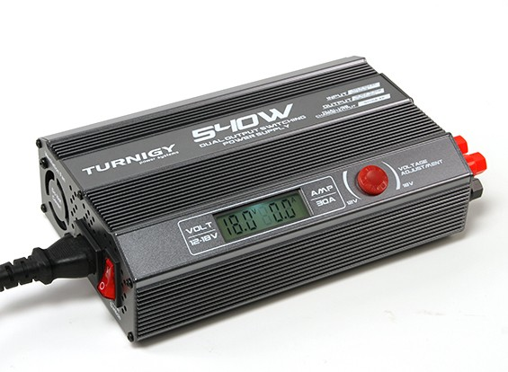 Turnigy 540W Dual-Ausgang Schaltnetzteil (UK-Stecker)