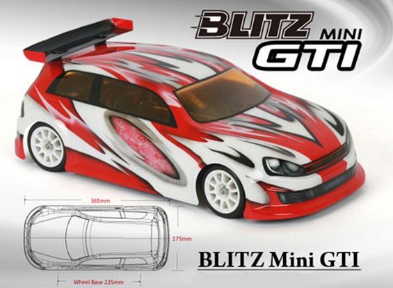 BLITZ Mini GTI Körper Shell (225mm) (0,8 mm)