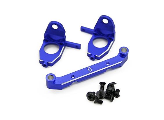 Aluminium Hinten Getriebe Set w / Easy Toe Control System (0 ° toe) - Turnigy TZ4 AWD / Drift Spec