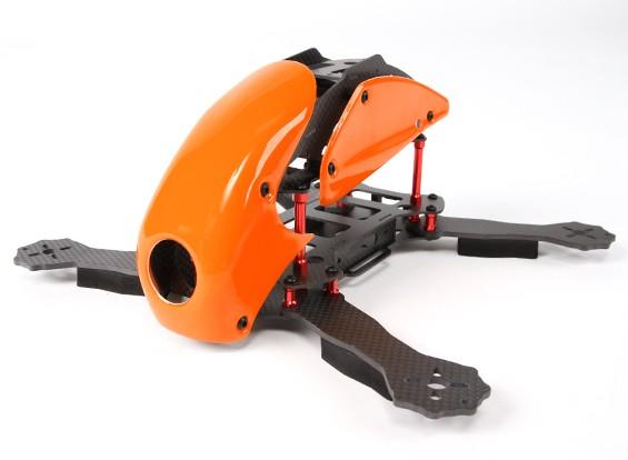 Hobbyking ™ Robocat 270mm Echte Carbon-Racer Quad (orange)