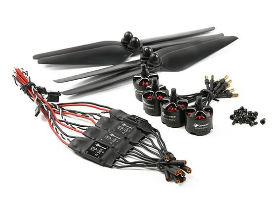 LDPOWER D310 Multicopter Power System 2312-960kv (9,5 x 4,5) (4 Stück)