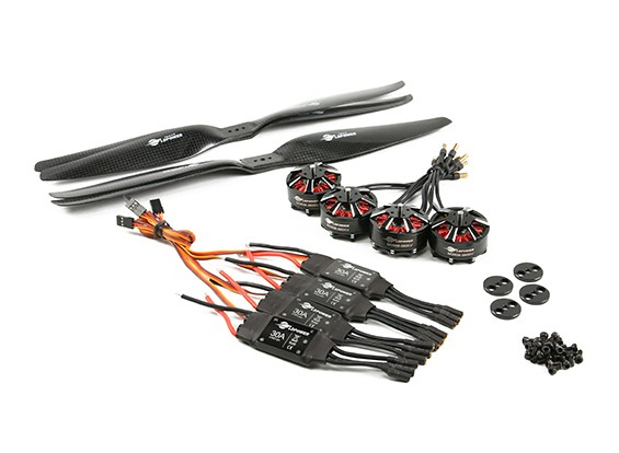 LDPOWER D600 Multicopter Power System 3508-380kv (13.5x5.5) (4-Pack)