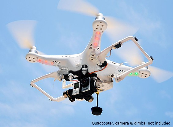 HML350 V2.0 Einziehfahrwerk für DJI Phantom Quadcopter