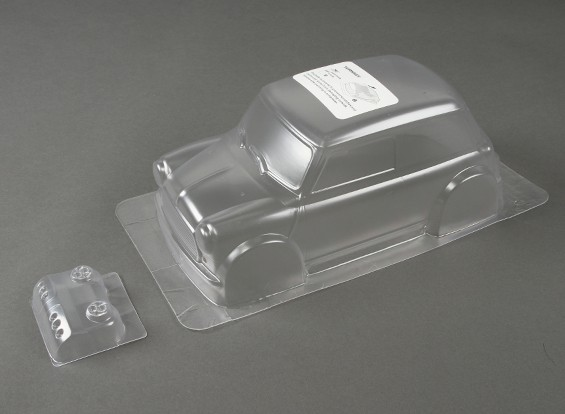 1.10 Mini Cooper Clear Body Shell (für M-Chassis)