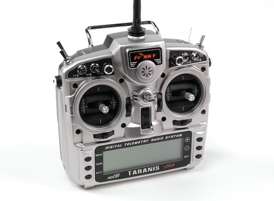 FrSky 2,4 GHz ACCST TARANIS X9D / X8R PLUS Telemetry Radio System (Mode 2) EU-Version
