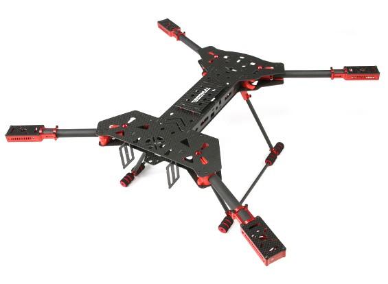 Hobbyking TF680H4 V2 H-Rahmen KIT