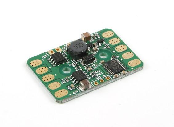 TFModel Verteiler und Lighting Control Board