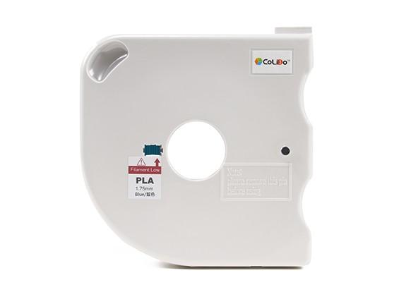 CoLiDo 3D-Drucker Filament 1.75mm PLA 500g Spule w / Cartridge (blau)