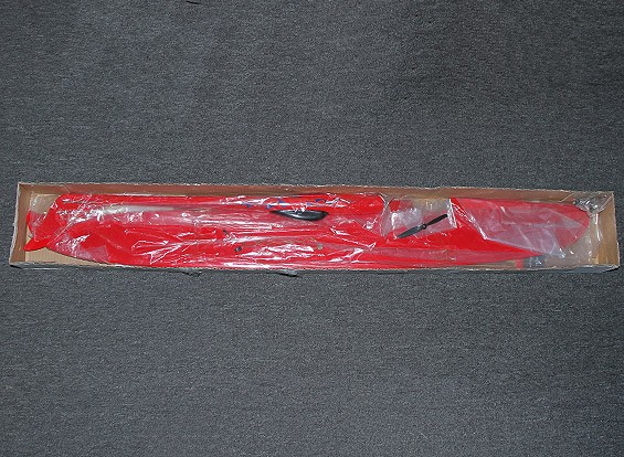 SCRATCH / DENT Drache-Rot 1228mm Pylon Racer Fiberglas (PNF)