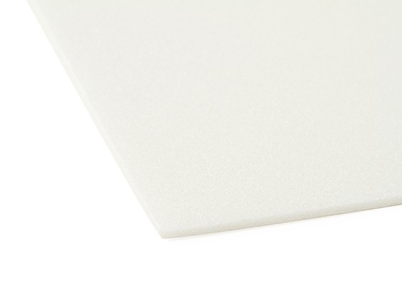 Aero-Modellierung Schaum-Brett 3mm x 500mm x 700mm (weiß)