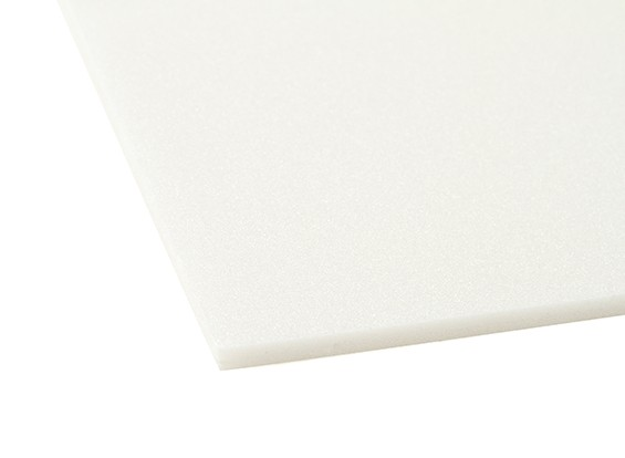 Aero-Modellierung Schaum-Brett 5 mm x 500 mm x 1000 mm (weiß)