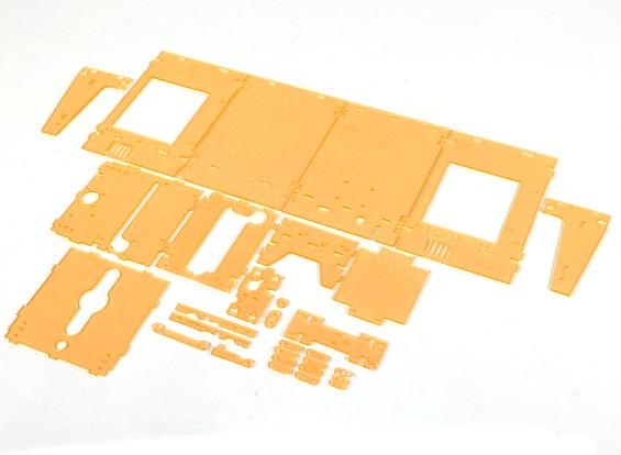Turnigy Mini Fabrikator 3D-Drucker v1.0 Ersatzteile - Orange Gehäuse