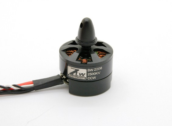 Black Widow 2206 2500KV Mit Built-In ESC CCW