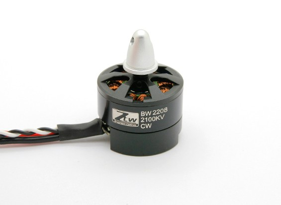 Black Widow 2208 2100KV Mit Built-In ESC CW