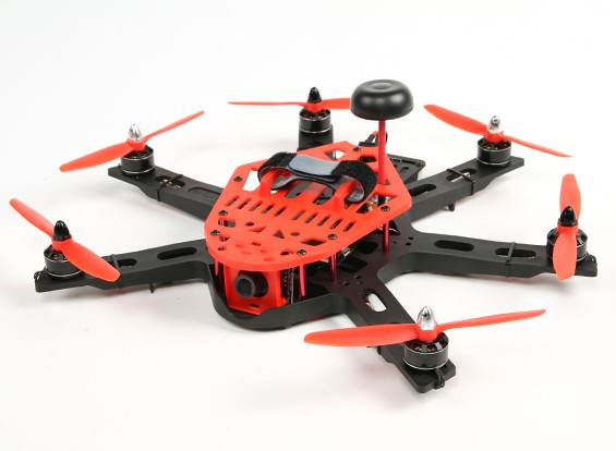 KINGKONG HEX 300 FPV Plug and Play (rot)