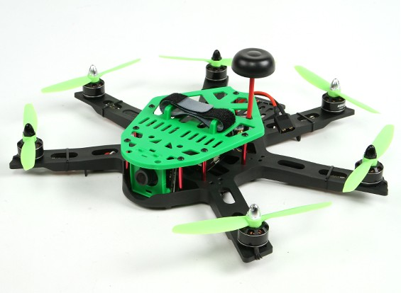 KINGKONG HEX 300 FPV Plug and Play (Grün)