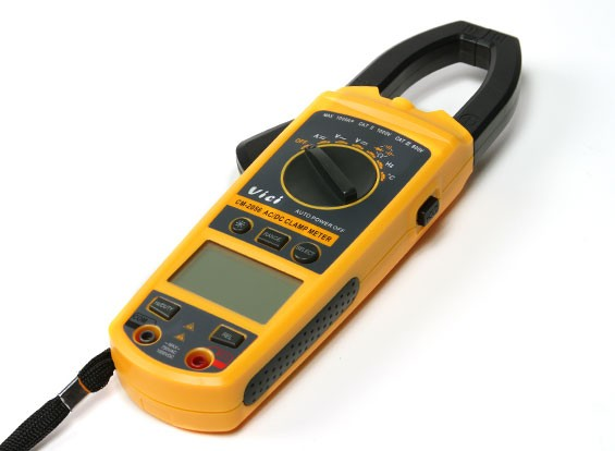 Vici CM2056 Digital LCD AC / DC-Clamp Multimeter