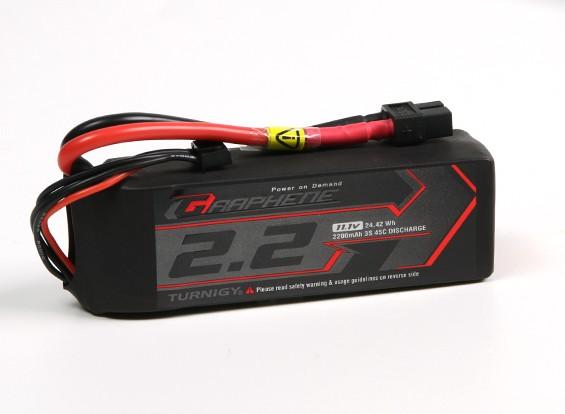 Turnigy Graphene 2200mAh 3S 45C LiPo-Pack w / XT60