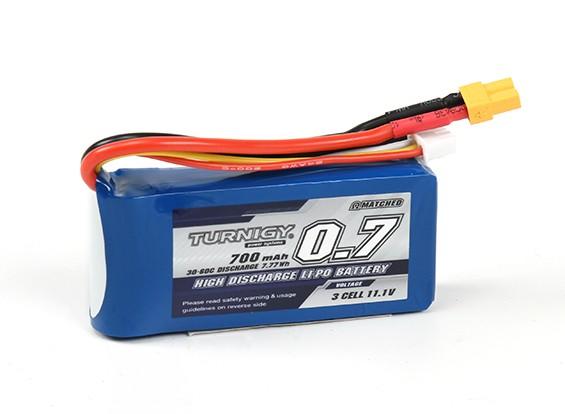 Turnigy 700mAh 3S 30C Lipo-Pack (XT30)