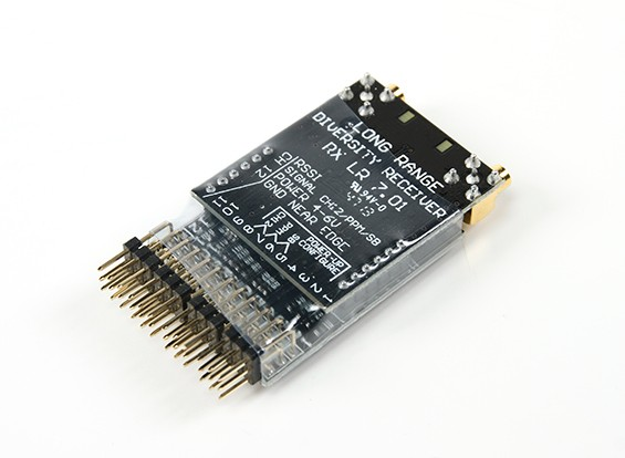 Scherrer Rx700LR Long Range UHF-Empfänger