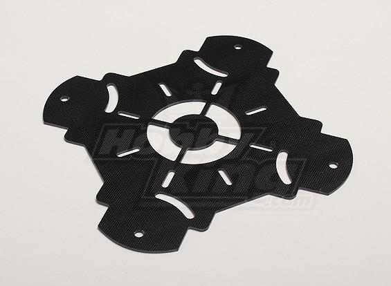 Hobbyking X525 V3-Glasfaser-Hauptrahmen obere Platte (1pc / bag)