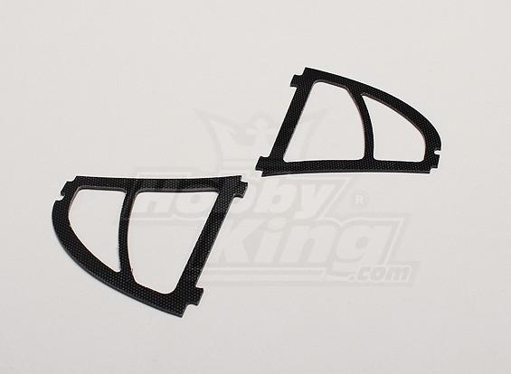 Hobbyking Y650 Scorpion-Glasfaser-Ohren (2ST / bag)