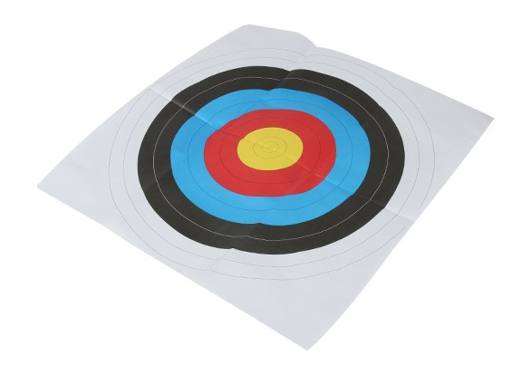 Long Shot Portsmouth rundes Gesicht Papier Target (1 / Packung) 60 x 60 cm