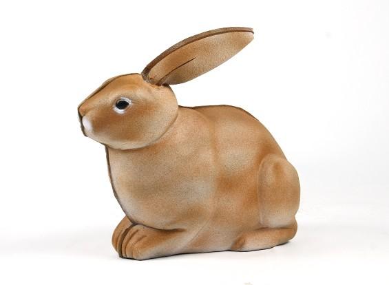 Tragbarer 3D-Ziel Kaninchen