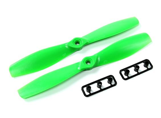 Gemfan 6045-Bullnose ein Paar (CW & CCW) Grün