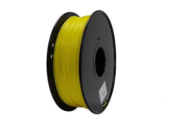Hobbyking 3D-Drucker Filament 1.75mm PLA 1KG Spool (Gelb)