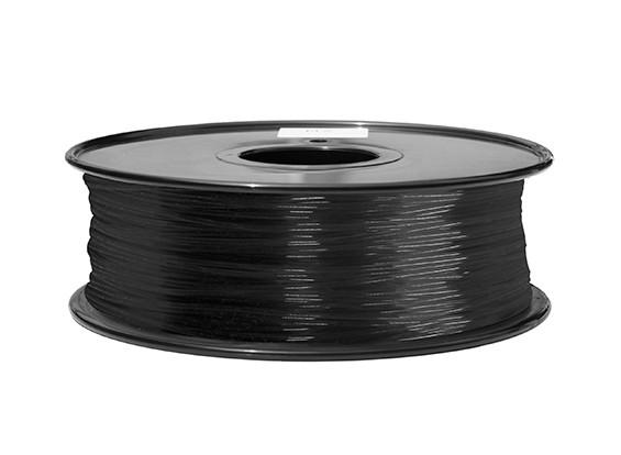 Hobbyking 3D-Drucker Filament 1.75mm PA Nylon 1.0KG Spool (schwarz)