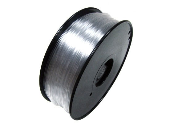Hobbyking 3D-Drucker Filament 1.75mm Flexible 0.8KG Spool (Transparent)