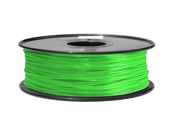 Hobbyking 3D-Drucker Filament 1.75mm ABS 1KG Spool (Grün)