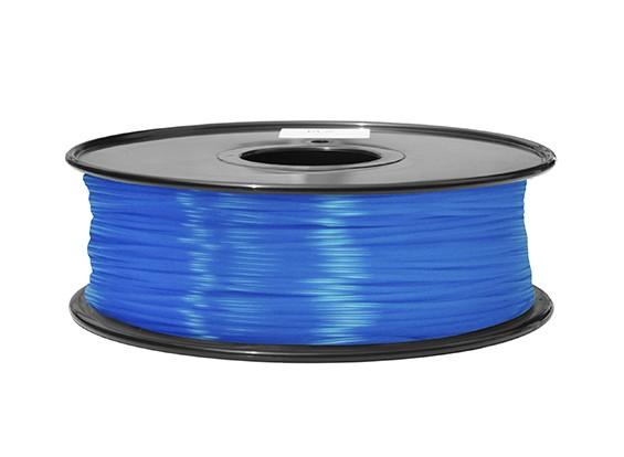 Hobbyking 3D-Drucker Filament 1.75mm ABS 1KG Spool (blau fluoreszierend)