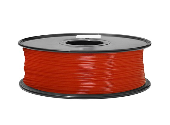 Hobbyking 3D-Drucker Filament 1.75mm ABS 1KG Spool (Fluorescent Red)