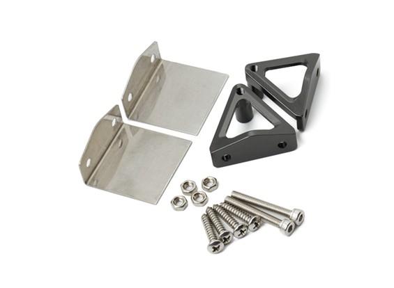 Edelstahl-Trimmklappen und CNC-Aluminium-Legierung Stand Set