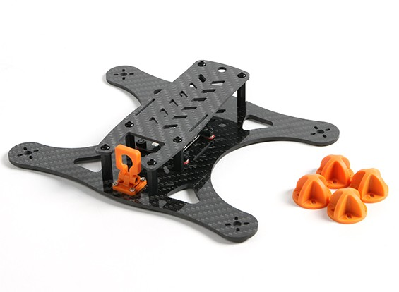 DIATONE Lizard 180 v2.0 CF-Rahmen-Kit (orange)
