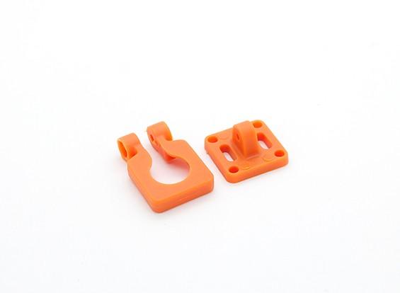 DIATONE Kameraobjektiv Einstellbare Halterung für Miniaturkameras (orange)