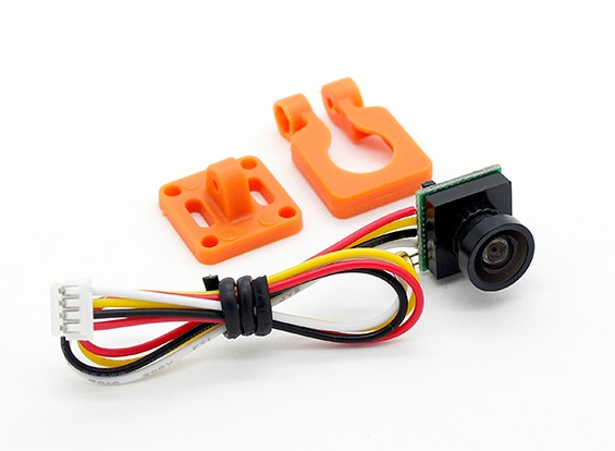 DIATONE 600TVL 120deg Miniatur-Kamera (orange)