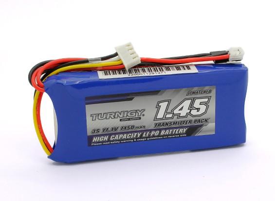 Turnigy 1450mAh 3S 11.1V Sender Lipo-Pack